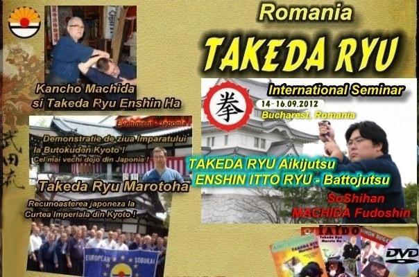 l'école Takeda Ryu marotoHa roumanie